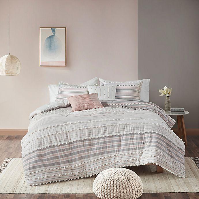 Alternate image 1 for Urban Habitat Calum 5-Piece King/California King Comforter Set in Blush