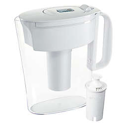 Brita® 6-Cup Water Filter Pitcher in Metro White