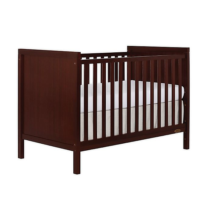 Alternate image 1 for Dream On Me Springfield 3-in-1 Convertible Crib in Espresso