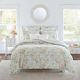 Laura Ashley® Lindy Full/Queen Comforter Bonus Set in Duck Egg