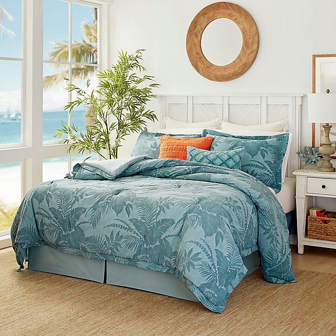 Alternate image 1 for Tommy Bahama® Blue Abalone Comforter Set in Blue