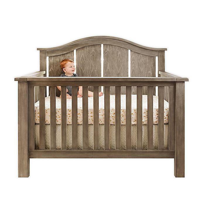 Alternate image 1 for Milk Street Baby Relic Arch 4-in-1 Convertible Crib in Fossil Grey