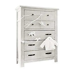 Milk Street Baby Relic 5-Drawer Chest in Cloud White