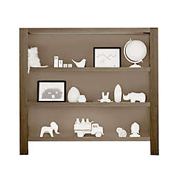 Milk Street Baby Relic 2-Shelf Hutch/Bookcase in Fossil Grey