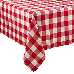 Saro Lifestyle Buffalo Plaid Tablecloth