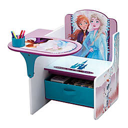 Disney Frozen II Chair Desk with Storage Bin by Delta Children