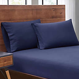SALT™ Truly Soft 2-Pack Microfiber Dorm Twin XL Sheet Set in Navy