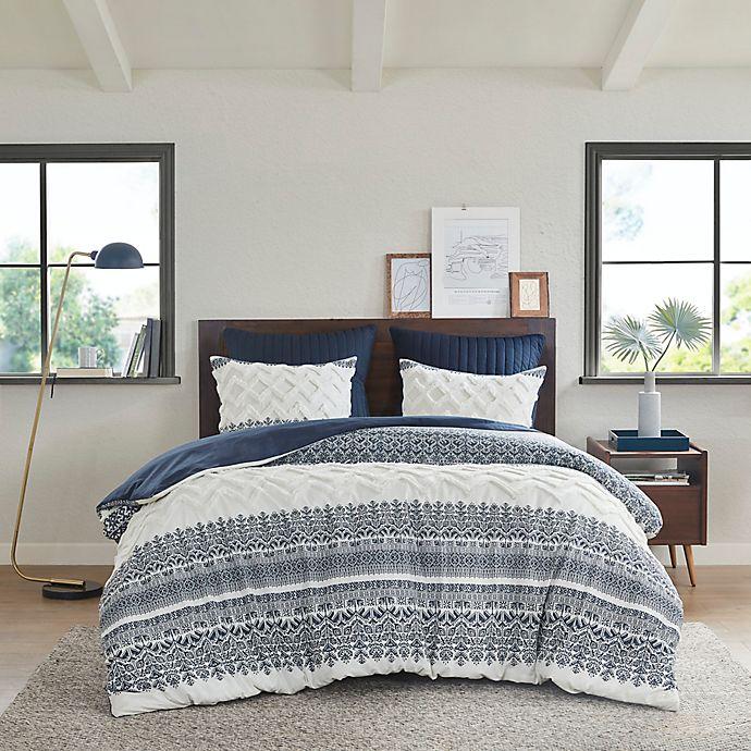 Alternate image 1 for INK+IVY Mila 3-Piece Reversible Comforter Set