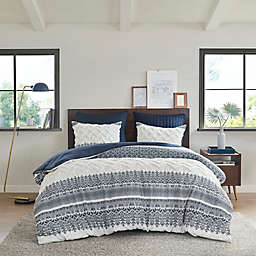 INK+IVY Mila 3-Piece Reversible Comforter Set