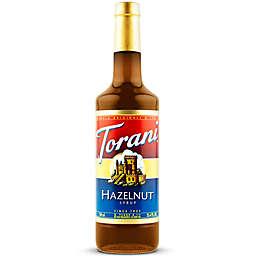 Torani 750 mL Classic Hazelnut Syrup
