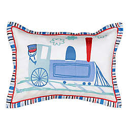 Waverly Kids All Aboard Embroidered Decorative Pillow