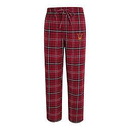 Arizona State University Men's Small Flannel Plaid Pajama Pant with Left Leg Team Logo