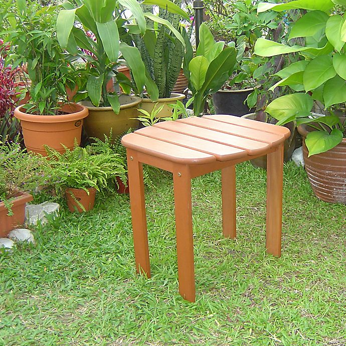 Alternate image 1 for Linon Home Blaise Adirondack Outdoor End Table