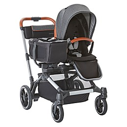 Contours® Element Side-by-Side Single-to-Double Stroller in Storm Grey