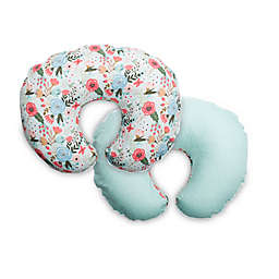 Boppy® Premium Nursing Pillow Cover in Mint Floral