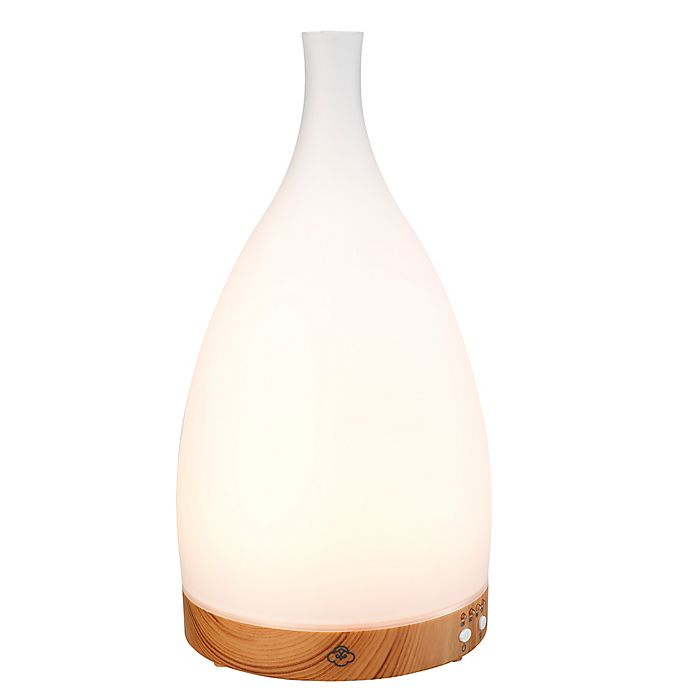 Alternate image 1 for Serene House® Corona Glass Ultrasonic Aromatherapy Diffuser in White