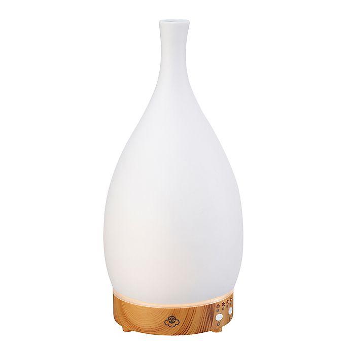 Alternate image 1 for Serene House® Zodiac Ceramic Ultrasonic Aromatherapy Diffuser in White