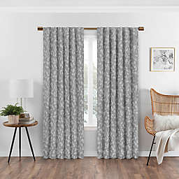 Eclipse Nora Rod Pocket/Back Tab 100% Blackout Window Curtain Panel