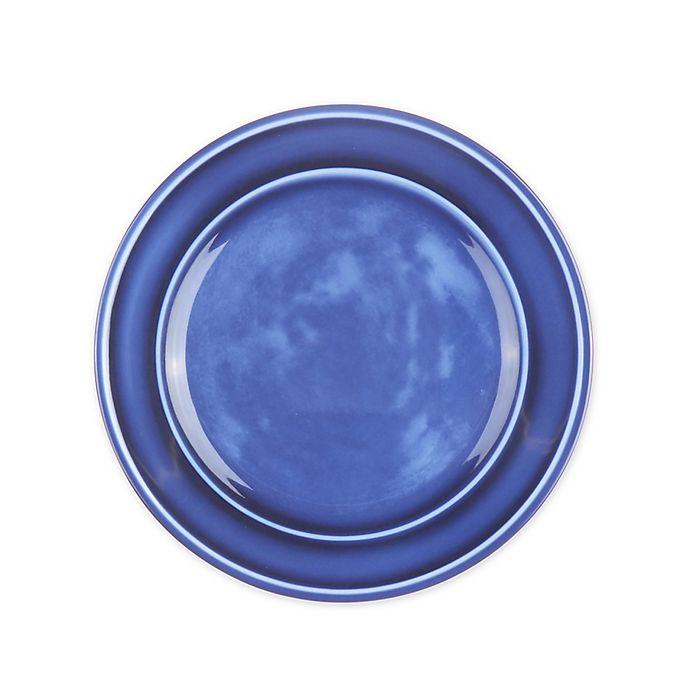 Alternate image 1 for Bee & Willow™ Home Glaze Melamine Dinner Plate in Blue