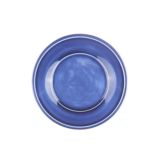 Alternate image 1 for Bee & Willow™ Home Glaze Melamine Salad Plate in Blue