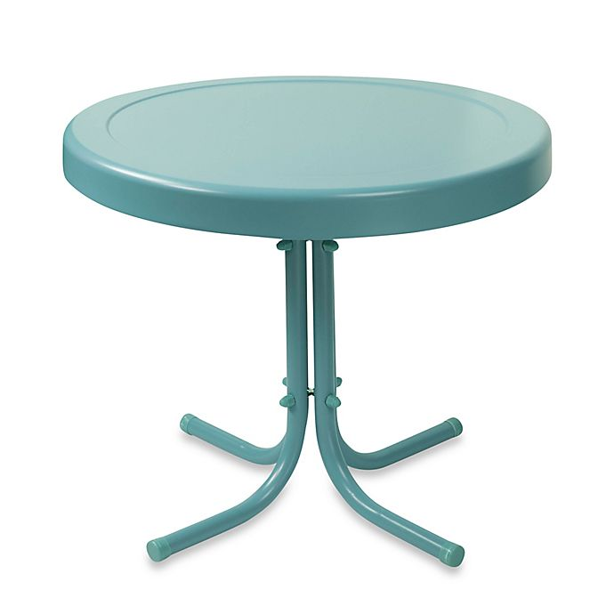 Alternate image 1 for Crosley Outdoor Metal Side Table