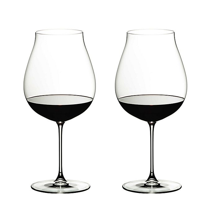 Alternate image 1 for Riedel® Veritas New World Pinot Noir/Nebbiolo/Rosé Champagner Wine Glasses (Set of 2)