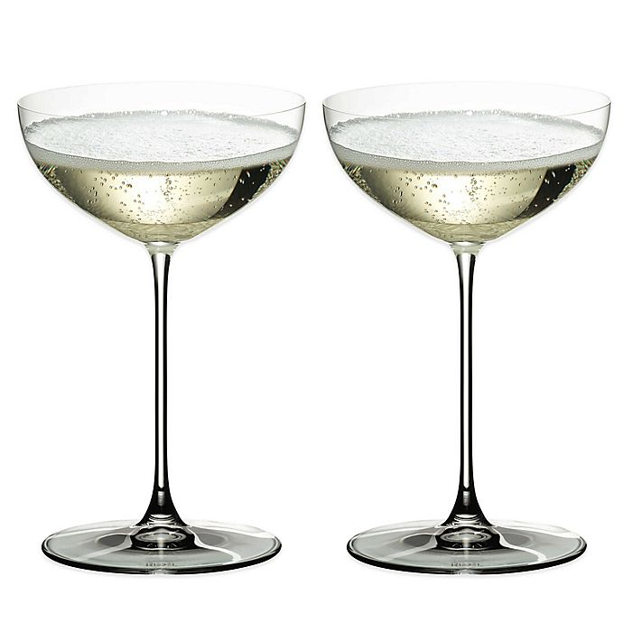 Alternate image 1 for Riedel® Veritas Coupe/Moscato/Martini Wine Glasses (Set of 2)