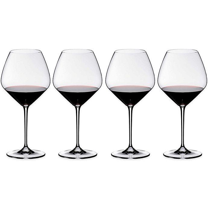 Alternate image 1 for Riedel® Heart to Heart Pinot Noir Wine Glasses