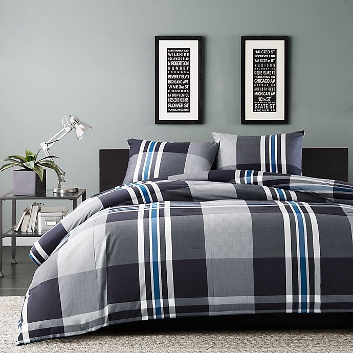 Alternate image 1 for INK+IVY Nathan Comforter Set