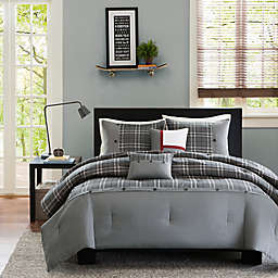 Intelligent Design Daryl 5-Piece King/California King Comforter Set in Grey
