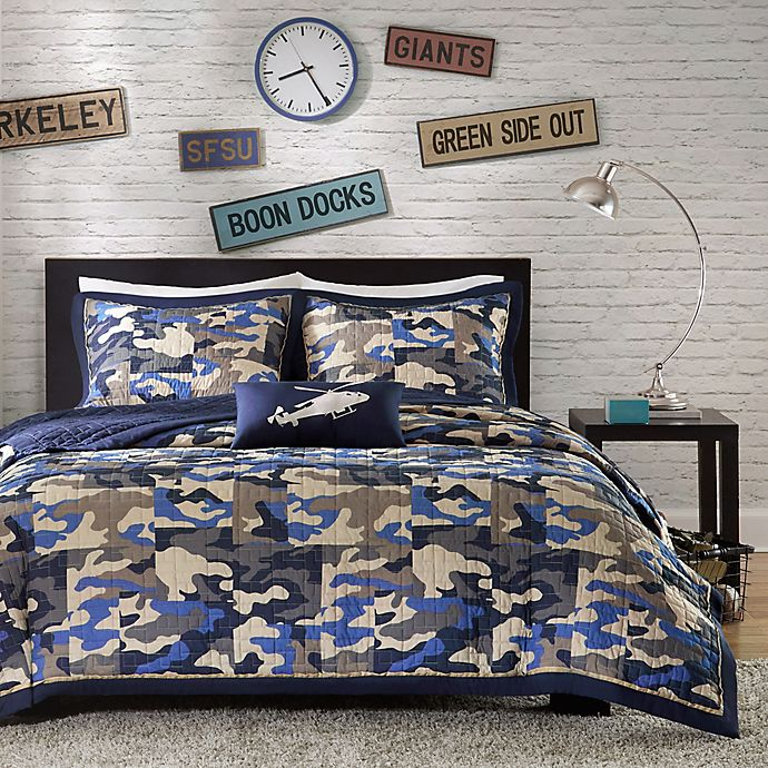 Alternate image 1 for Mi Zone Reagan Animal Printed Comforter Bedding Set