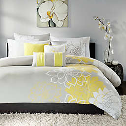 Madison Park Lola 6-Piece Duvet Cover Set