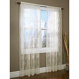 Mona Lisa Window Valance in Shell