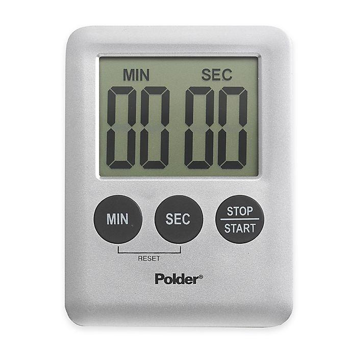 Alternate image 1 for Polder® 100-Minute Digital Mini Timer