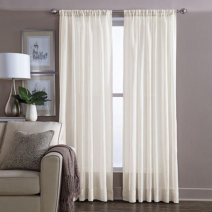 Alternate image 1 for Wamsutta® Cotton Sheer Voile Panel (Single)