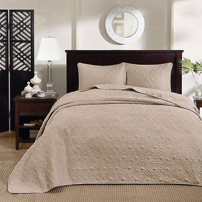 Alternate image 1 for Madison Park Quebec 3-Piece Reversible Bedspread Set