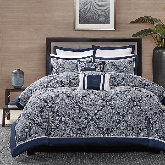 Alternate image 1 for Madison Park Medina 8-Piece Comforter Set