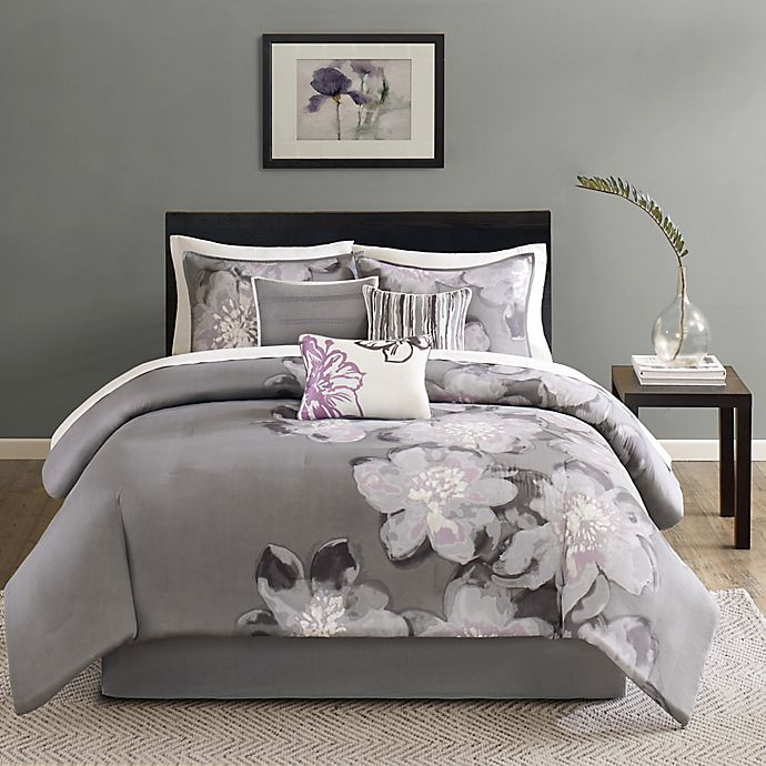 Alternate image 1 for Madison Park Serena 7-Piece Comforter Set