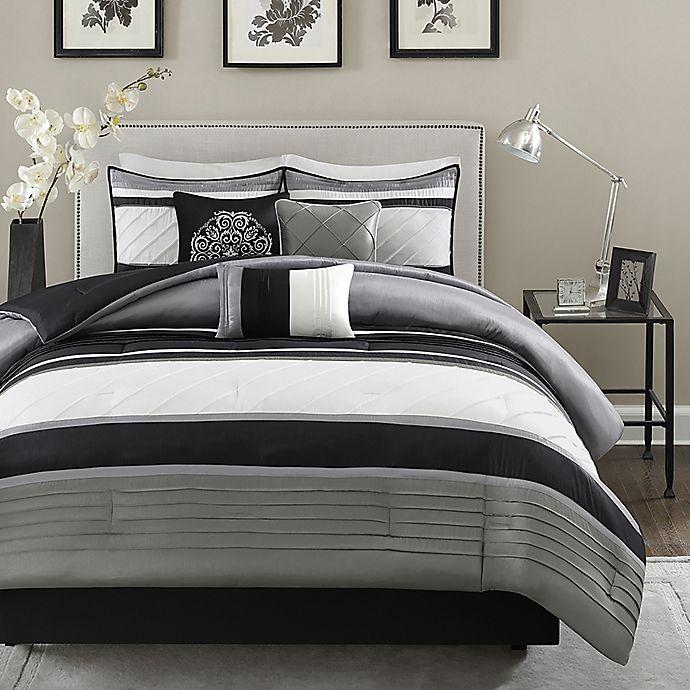 Alternate image 1 for Madison Park Blaire 7-Piece Comforter Set