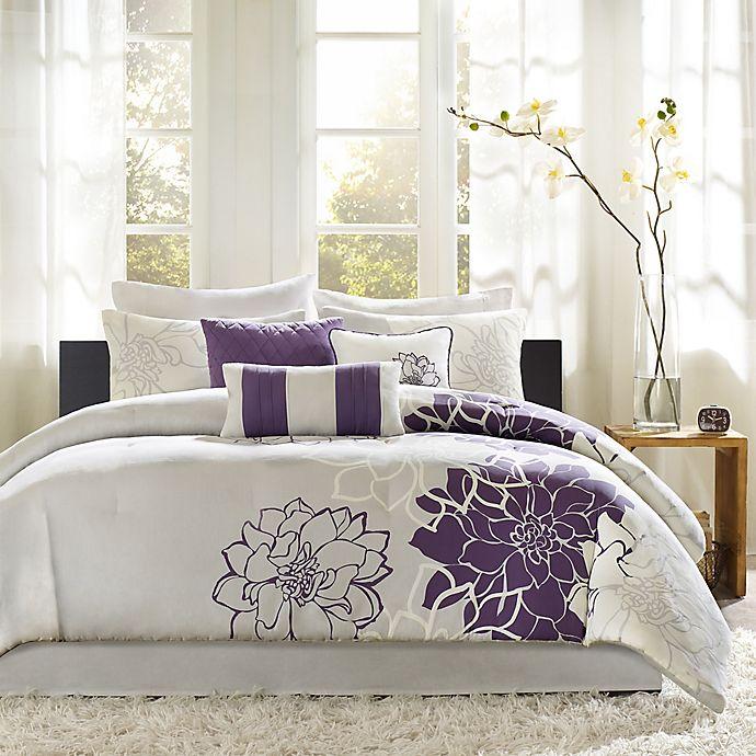 Alternate image 1 for Madison Park Lola 7-Piece Comforter Set