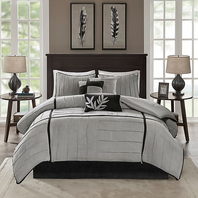 Alternate image 1 for Madison Park Connell 7-Piece Comforter Set