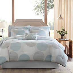 Madison Park Essentials Knowles 9-Piece Comforter Set in Aqua