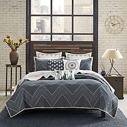 INK+IVY Pomona 3-Piece Reversible Coverlet Set