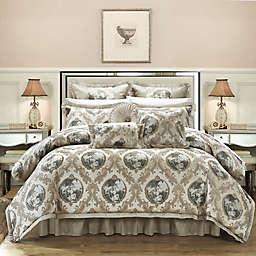 Chic Home Alessandro 9-Piece King Comforter Set in Beige