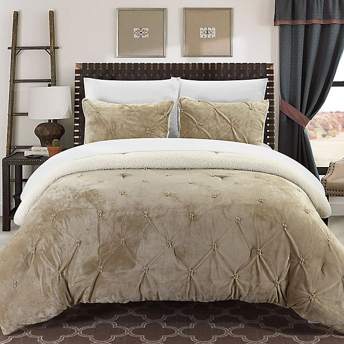 Alternate image 1 for Chic Home Aurelia 2-Piece Twin XL Comforter Set