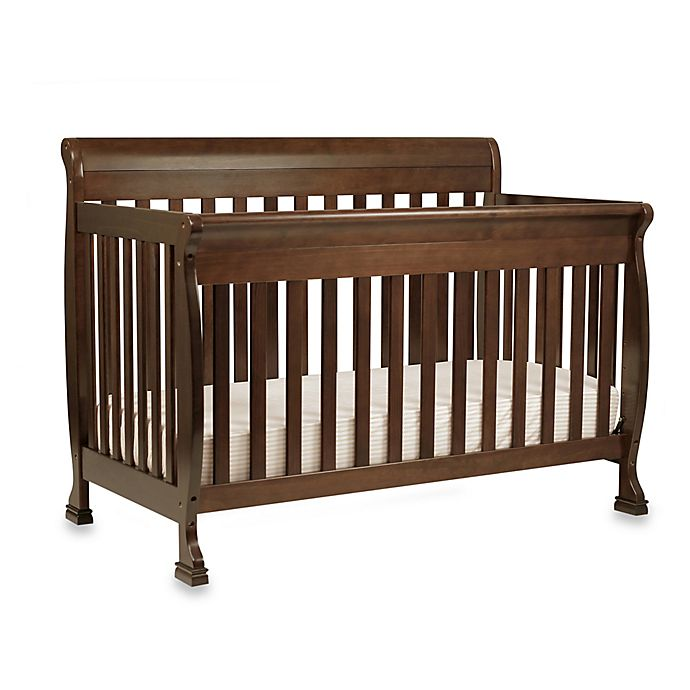 Alternate image 1 for DaVinci Kalani 4-In-1 Convertible Crib in Espresso