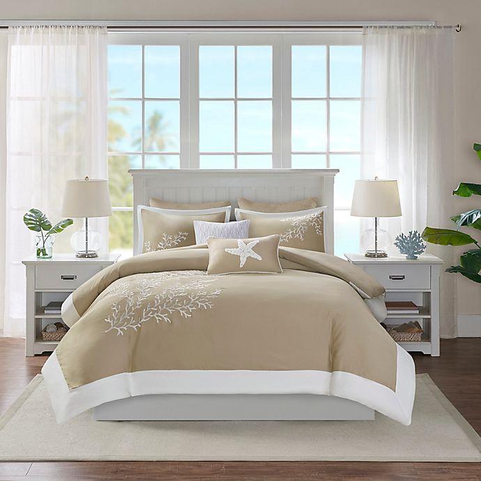 Alternate image 1 for Harbor House® Coastline Comforter Set in Khaki