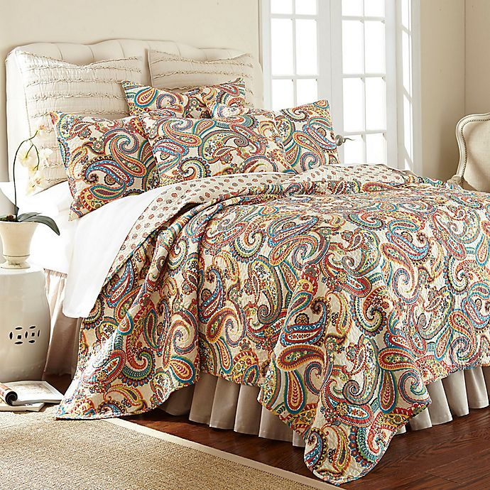Alternate image 1 for Levtex Home Alyssa Paisley Bedding Collection