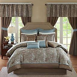 Madison Park Essentials Brystol 24-Piece Comforter Set