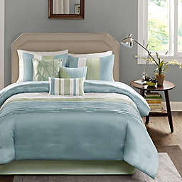 Madison Park Amherst 7-Piece King Comforter Set in Green